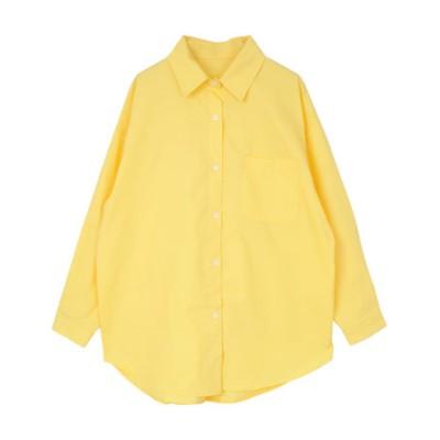 カラーオーバーシャツ