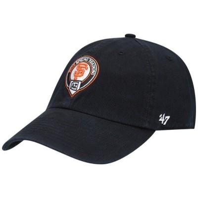 フォーティーセブン メンズ 帽子 アクセサリー San Francisco Giants '47 Spring Training Adjustable Hat