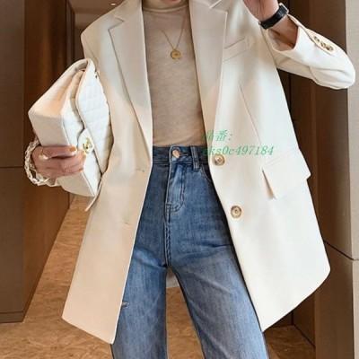 ジャケット レディース スーツ ブレザー ビジネス 大人スタイル テーラード カジュアル