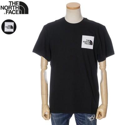 ザ ノースフェイス THE NORTH FACE Tシャツ 半袖 メンズ ブラック NF00CEQ5 アウトレットセール