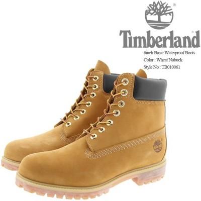 [特典アリ/セットで割引]ティンバーランド ブーツ 6インチ Timberland 6inch Basic Waterproof Boots Wheat Nubuck TB010061 防水 ウォータープルーフ[ZRC]