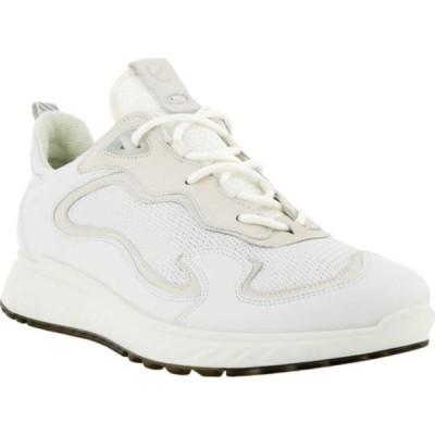 エコー スニーカー シューズ メンズ ST.1 Sport Sneaker (Men's) Multicolor White Full Grain Leather/Nubuck