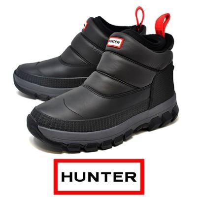 HUNTER ハンター スノーブーツ 防水 MFS 9104 WWU メンズ ショート ORIGINAL INSULATRD SNOW BT ANKLE 雪 防寒ブーツ 冬靴 北海道