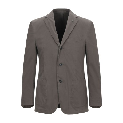 トラサルディ ジーンズ TRUSSARDI テーラードジャケット ココア 50 コットン 97% / ポリウレタン 3% テーラードジャケット