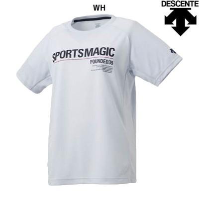 【セール】デサント DESCENTE 半袖プラクティスシャツ DVWNJA50 レディース バレーボール 半袖Tシャツ Tシャツ トップス 練習 トレーニングウェア 特価