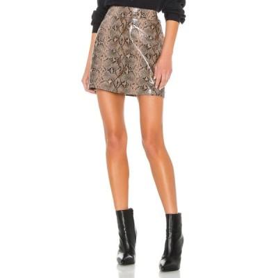 ブランクニューヨーク BLANKNYC レディース ミニスカート スカート Anaconduh Vegan Leather Mini Skirt Anaconduh