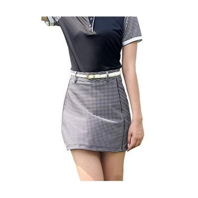 QIRUNレディース ゴルフウェア ポロシャツ スカート カジュアル 可愛い スポーツウェア おしゃれ ゴルフ ウェア