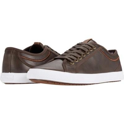 ベンシャーマン Ben Sherman メンズ スニーカー シューズ・靴 Conall Lo Dark Brown