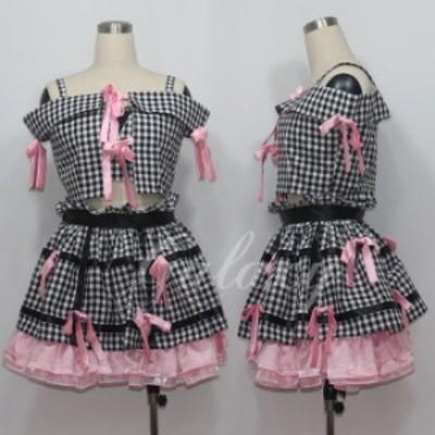 AKB48 小嶋陽菜 コスプレ 衣装 cc1400(cc1400)