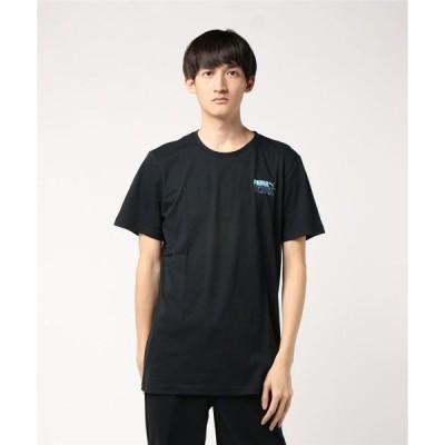 tシャツ Tシャツ PUMA X TETRIS TEE プーマXテトリス 597138 01BLACK