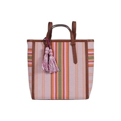 フォッシル Camilla Small Backpack レディース バックパック リュックサック Bright Stripe