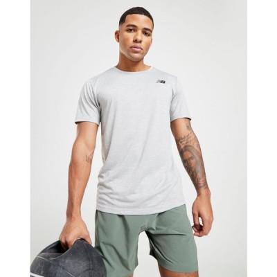 ニューバランス New Balance メンズ Tシャツ トップス sport tech t-shirt grey