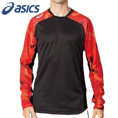 アシックス asics ロングスリーブトップバレーボール ロングTシャツ2051A258-600
