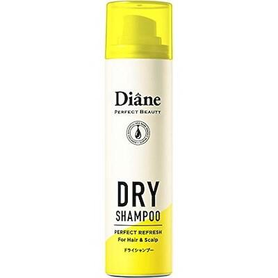 【携帯用】ドライシャンプー (水のいらないシャンプー) フレッシュシトラスペアの香り ダイアン パー