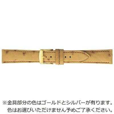 バンビ エルセ オーストリッチ(ダチョウ)ウェルダー仕立て 18mm(タン) SDA006TP