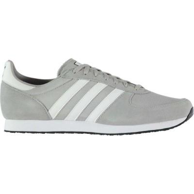 アディダス adidas メンズ スニーカー シューズ・靴 ZX Racer Trainers Grey/White