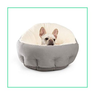 Best Friends by Sheri OrthoComfort JUMBO / Large Deep Dish Cuddler - Self-Warming Cat and Dog Bed Cushion for Joint-Relief and Improved Sleep, Gray, I
