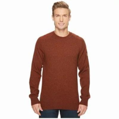 フェールラーベン ニット・セーター Ovik Re-Wool Sweater Autumn Leaf