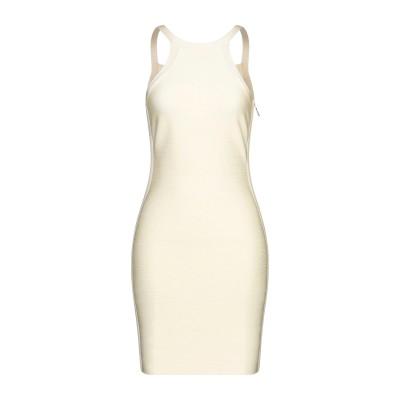 MARCIANO ミニワンピース&ドレス ライトイエロー M レーヨン 83% / ナイロン 16% / ポリウレタン 1% ミニワンピース&ドレス