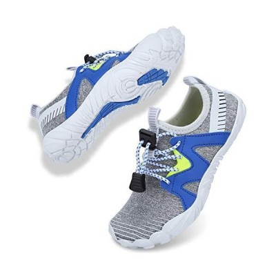 Kids Water Shoes Toddler Girls Boys Quick Dry Non-Slip Barefoot Aqua Sock f