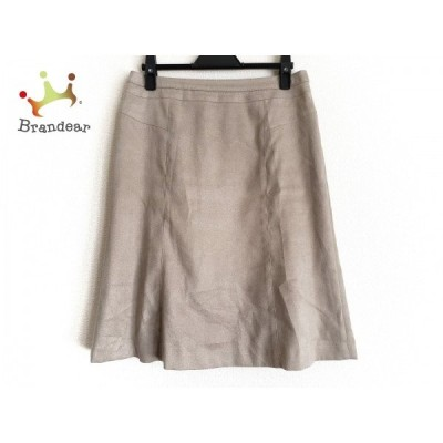 ニジュウサンク スカート サイズ40 M レディース ライトブラウン vingt-trois arrondissements     スペシャル特価 20200509