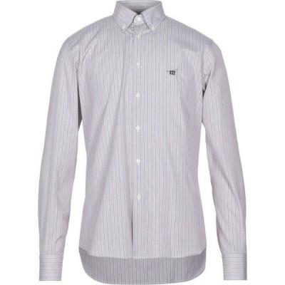 ヘンリーコットンズ HENRY COTTON'S メンズ シャツ トップス Striped Shirt Purple