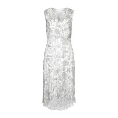 ELIE TAHARI 7分丈ワンピース・ドレス ホワイト 10 レーヨン 50% / シルク 50% 7分丈ワンピース・ドレス