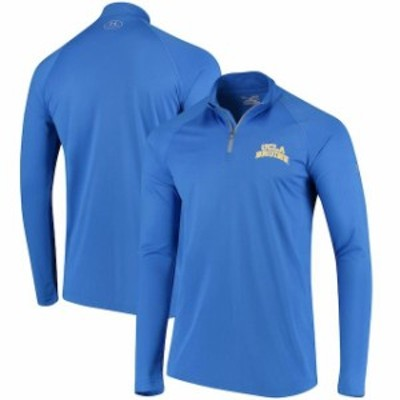 Under Armour アンダー アーマー スポーツ用品  Under Armour UCLA Bruins Blue Arched Performance Quarter-Zip Pullover