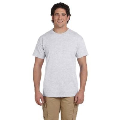 ユニセックス 衣類 トップス The Hanes 52 oz 50/50 EcoSmart T-Shirt - ASH - S Tシャツ