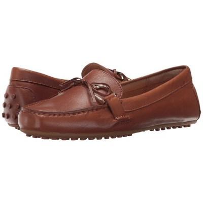 ラルフローレン スリッポン・ローファー シューズ レディース Briley Moccasin Loafer Deep Saddle Tan Super Soft Leather