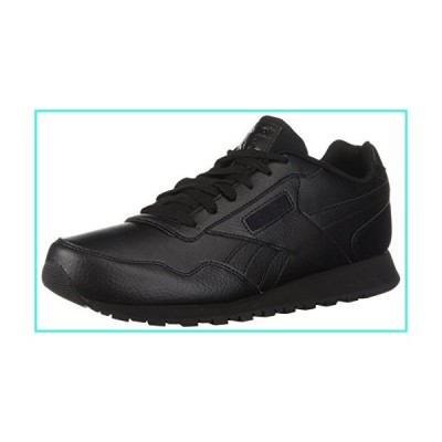 【新品】Reebok Men's Classic Leather Harman Run Sneaker, Black/Black, 10.5 M US(並行輸入品)