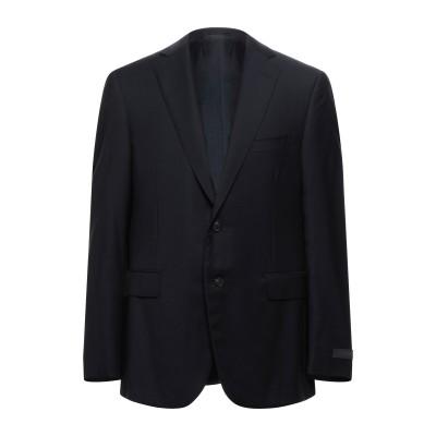 パル ジレリ PAL ZILERI テーラードジャケット ダークブルー 52 ウール 100% テーラードジャケット