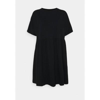 ノイジーメイ ワンピース レディース トップス NMKERRY SHORT DRESS - Jersey dress - black