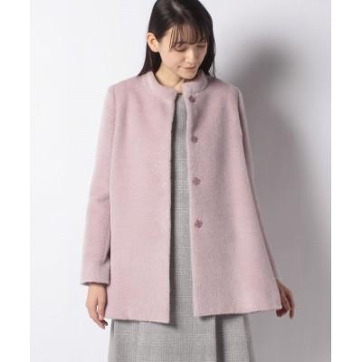 【レリアン】 コート レディース ピンク系 9 Leilian