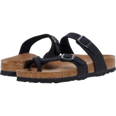ビルケンシュトック Birkenstock レディース サンダル・ミュール シューズ・靴 Mayari Vegan Black Birkibuc(TM)