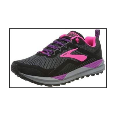 Brooks - Cascadia 14-1203041B063 - Color: Black-Pink-Violet - Size: 8[並行輸入品]