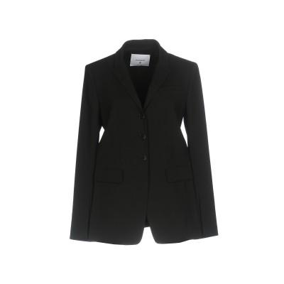 ドンダップ DONDUP テーラードジャケット ブラック 40 レーヨン 77% / 麻 23% テーラードジャケット
