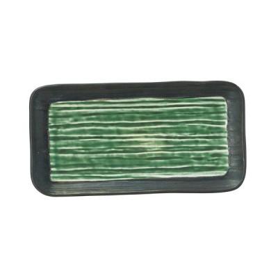 長角皿 和食器 / 水鏡 柳香 9.0長角皿 寸法: L-28 S-14.5 H-2.6cm