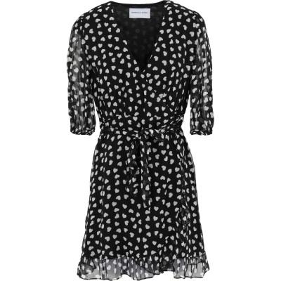 クープルズ THE KOOPLES ミニワンピース&ドレス ブラック 0 レーヨン 100% ミニワンピース&ドレス