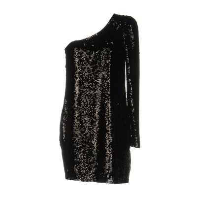 ピンコ PINKO ミニワンピース&ドレス ブラック 44 ポリエステル 100% ミニワンピース&ドレス