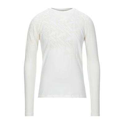 VERSACE COLLECTION T シャツ ホワイト L コットン 96% / ポリウレタン 4% T シャツ