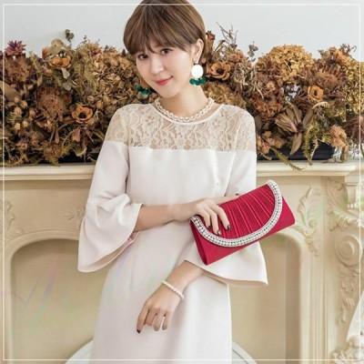 結婚式 ワンピース パーティードレス 大きいサイズ パーティー rose ドレス お呼ばれ 体型カバー きれいめ フォーマル レディース シンプル