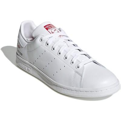 アディダス スタンスミス adidas STAN SMITH フットウェアホワイト/スカーレット/コアブラック H67743 アディダスジャパン正規品