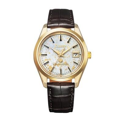 ザ・シチズン The CITIZEN AQ4042-01P メンズ腕時計 エコ・ドライブ 25周年記念 限定モデル