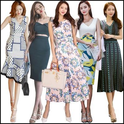 2020 高品質ワンピースドレス  韓国ファッションOL正式な場合 パーティードレスセクシーなワンピース一字肩 二点セット OL レース 深いVネック ワンピ
