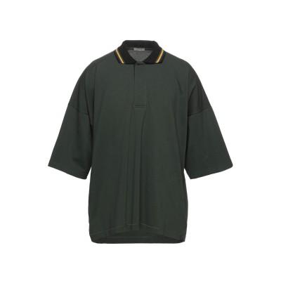 ボッテガ・ヴェネタ BOTTEGA VENETA ポロシャツ ミリタリーグリーン 56 コットン 100% ポロシャツ
