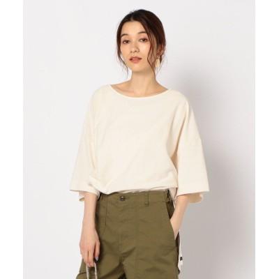 【ノーリーズ】 Oversize T Shirt-Color レディース オフホワイト 38 NOLLEY'S