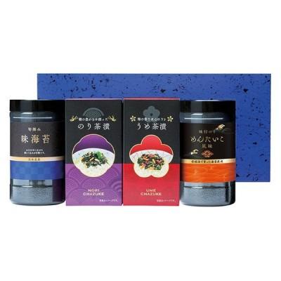 お中元 味付海苔&お茶漬詰合せ LI-20A ( 味付け海苔 お茶漬け 詰合せ ギフト セット ) tri-T154-033