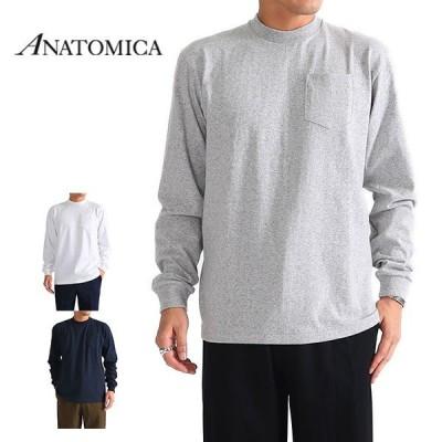 ANATOMICA アナトミカ 胸ポケット ロンT 530-522-18 長袖Tシャツ メンズ