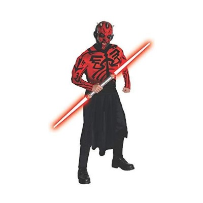 Star Wars Darth Maul Deluxe Muscle Chest Adult Costume スター?ウォーズダース?モールデラックス